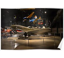 "Curtis P-40E  ""Warhawk""   Flown By  ""Flying Tigers"" Poster"