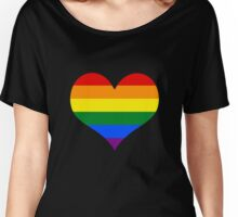 LGBT Heart Women's Relaxed Fit T-Shirt