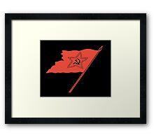 Soviet Banner Framed Print