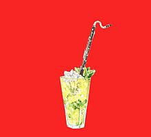 Bass Clarinet - Musical daiquiri by didielicious