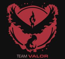 Team Valor Splash with Text One Piece - Short Sleeve