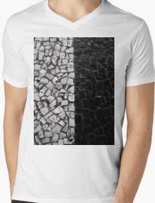 Black and White on the streets Mens V-Neck T-Shirt