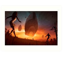 Invasion Art Print