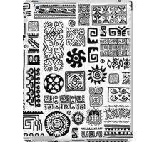 Ethnic handmade ornament iPad Case/Skin