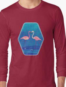 Flamingos in love Long Sleeve T-Shirt
