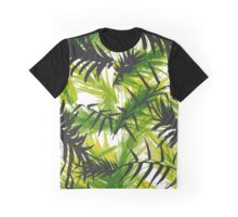 Palm Leaf Vector Pattern Graphic T-Shirt