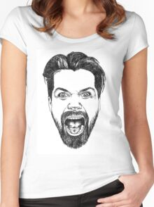 Simon Neil Illustration Women's Fitted Scoop T-Shirt