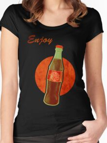 Enjoy Nuka Cola Women's Fitted Scoop T-Shirt