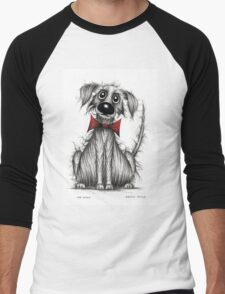 Mr Woof Men's Baseball ¾ T-Shirt