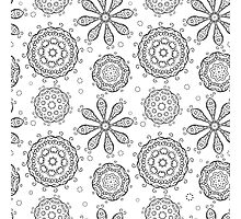 Floral seamless background Photographic Print