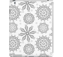 Floral seamless background iPad Case/Skin