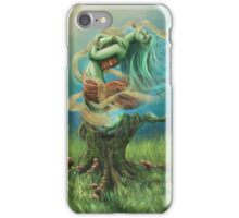 Wood Nymph (Original Work) iPhone Case/Skin