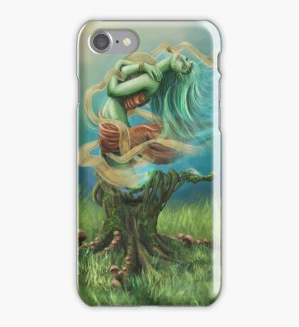 Wood Nymph (Original Work) iPhone Case/Skin