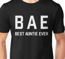 bae best aunt ever Unisex T-Shirt