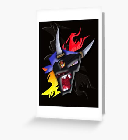Born to Raise Hell.  Greeting Card