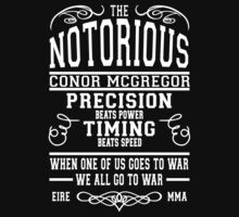 Conor Mcgregor One Piece - Short Sleeve