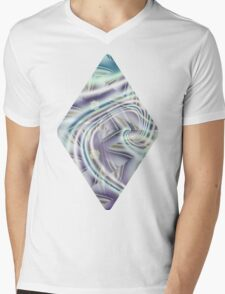 Abstract Shards Fractal  Mens V-Neck T-Shirt
