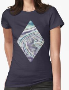 Abstract Shards Fractal  Womens Fitted T-Shirt