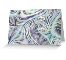 Abstract Shards Fractal  Greeting Card
