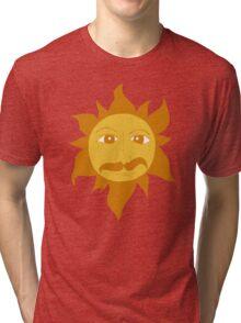 MONTY PYTHON KING ARTHUR SHIELD Tri-blend T-Shirt