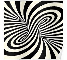 Trippy Optical Illusions Poster