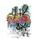 RAKISH- GRAFFITI by William Mendez