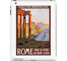 Vintage Rome Travel  iPad Case/Skin