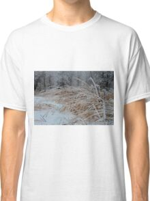 Frost Laden Grasses Classic T-Shirt