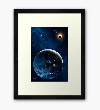 3001 Earth Odyssey Framed Print