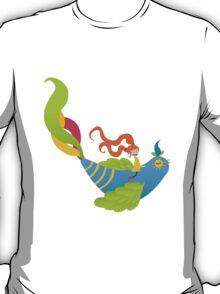 Bird and Girl T-Shirt