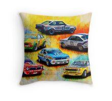 Group C Holden Toranas Throw Pillow