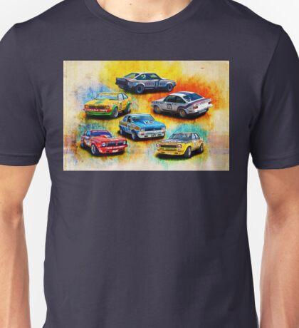 Group C Holden Toranas Unisex T-Shirt