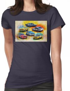 Group C Holden Toranas Womens Fitted T-Shirt