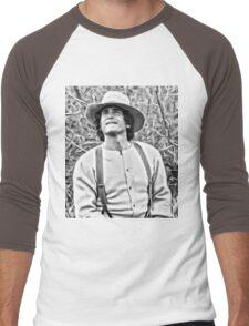 Michael Landon Little House on the Prairie Men's Baseball ¾ T-Shirt