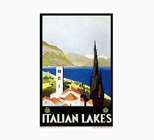 Vintage Italian Lakes Travel Unisex T-Shirt