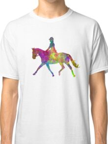 Horse show 05 in watercolor Classic T-Shirt
