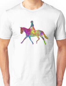 Horse show 05 in watercolor Unisex T-Shirt