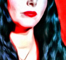 Morticia Sticker