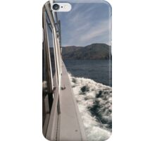 Boat ride iPhone Case/Skin