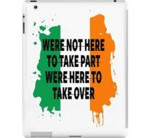 Conor Mcgregor Quote iPad Case/Skin