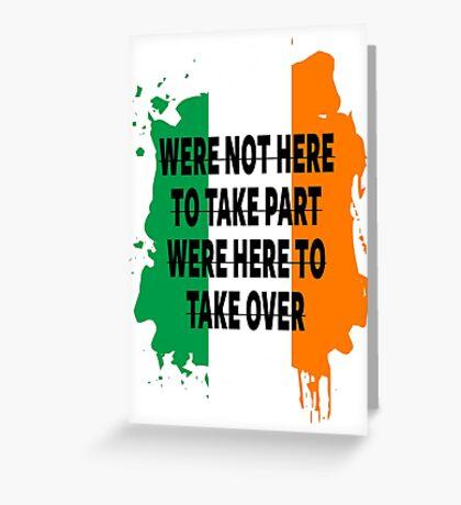 Conor Mcgregor Quote Greeting Card