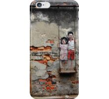 Kids On The Swing iPhone Case/Skin