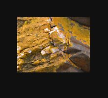 Quartz and Lichen, Sulphur Creek, Tasmania, Australia. Unisex T-Shirt