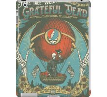 Grateful Dead - Fare Thee Well - 50 years (Number 3) iPad Case/Skin