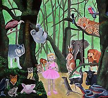 Watchers of the Forest by Jenny  Dyer