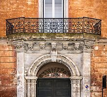 Decorative door in Nardo, Italy by Robert Dettman