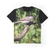 Sylvia atricappila (male) Graphic T-Shirt