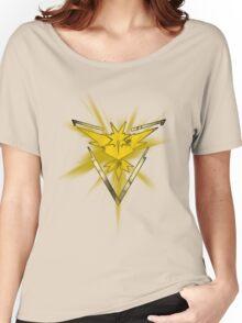 Team Instinct Pride (Pokemon Go) Women's Relaxed Fit T-Shirt