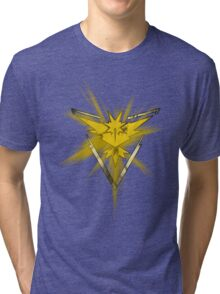 Team Instinct Pride (Pokemon Go) Tri-blend T-Shirt