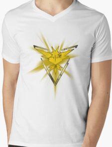 Team Instinct Pride (Pokemon Go) Mens V-Neck T-Shirt